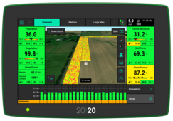 View Precision Planting monitors from Titan Machinery