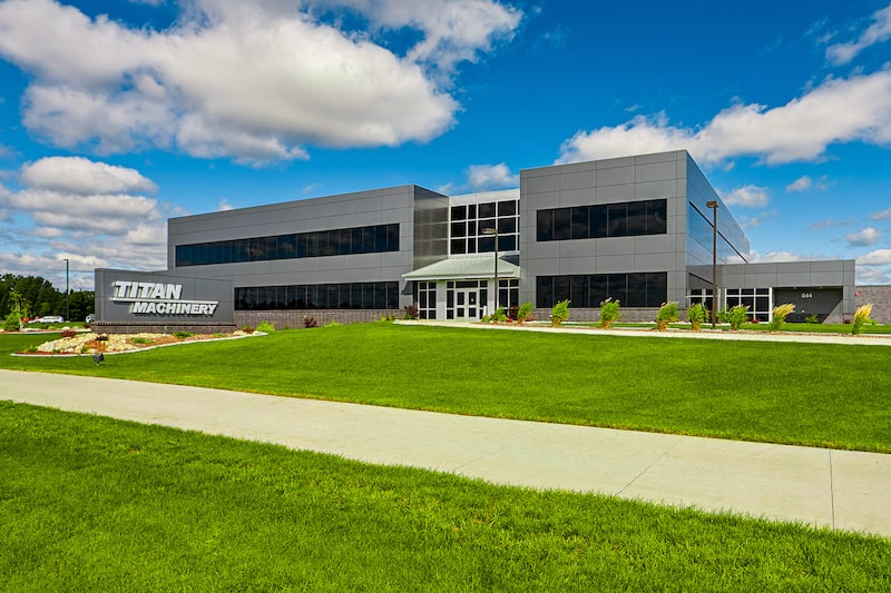 Titan Machinery business operations headquarters exterior