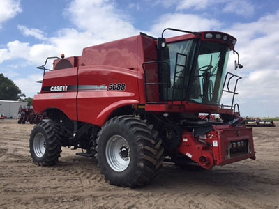 2011 Case IH 5088 combine from Titan Machinery