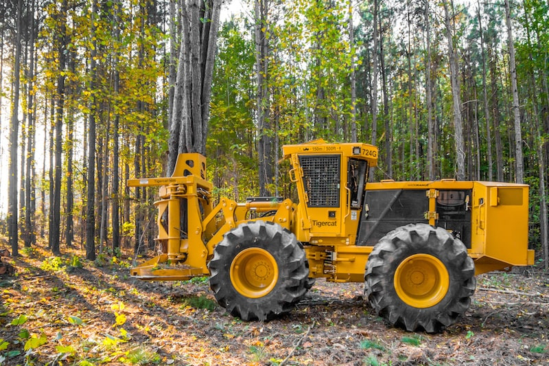 Tigercat 724G Forestry equipment