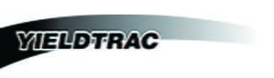 Yieldtrac agriculture equipment and farm machinery logo